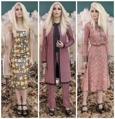 Alguns modelos da passarela de Patricia Viera: espontaneidade da carioca agradou na semana de moda de São Paulo / Fotos: divulgação