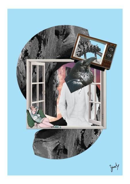 Um dos 12 trabalhos inéditos de Ronaldo Zirrah, que vão estar na exposição na Q.Guai / Foto: divulgação