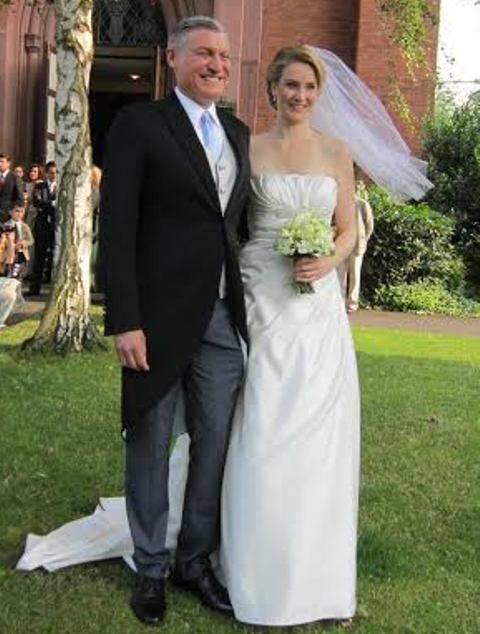 Os irmãos Joaquim e David Levy na primeira foto; nesta, David com a mulher, Annett, com quem casou-se em 2013 (Fotos: arquivo site Lu Lacerda)