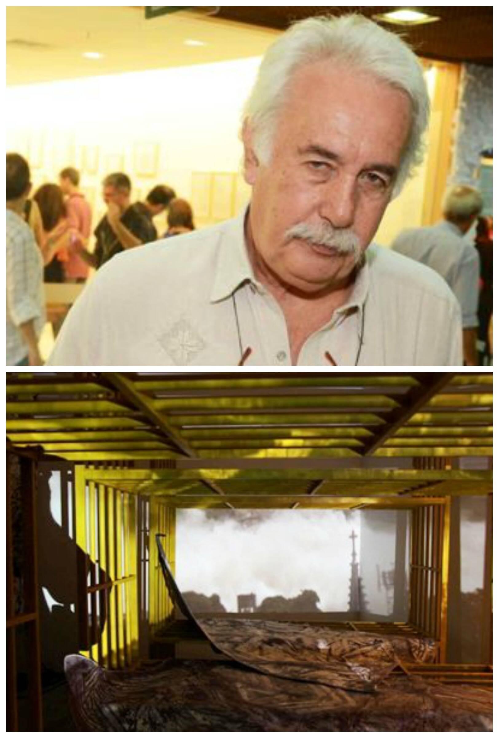 Vergara e a Cosmococa planejada por Hélio Oiticica, que poderá ser vista no MAM / Fotos: Ari Kaye e divulgação