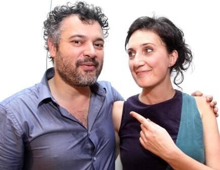 Domenico Lancellotti e Lucia Koch: parceria entre música e artes plásticas / Foto: divulgação