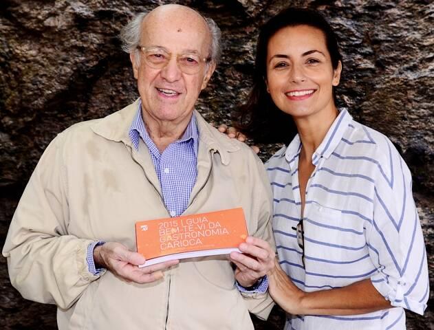 Rodolfo Garcia e Luciana Plass, os autores do guia gastronômico da editora Bem-te-vi, de Vivi Nabuco / Foto: divulgação