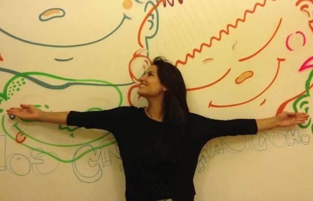 A atriz Úrsula Corona se dedica há 11 anos a ajudar projetos sociais no Rio / Foto: divulgação