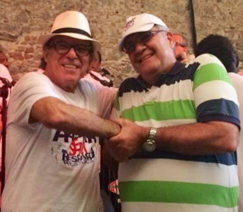 Jorge Jaber e Pedro Ernesto: no carnaval de 2015 os blocos Cordão da Bola Preta e Alegria Sem Ressaca vão estar unidos / Foto: divulgação
