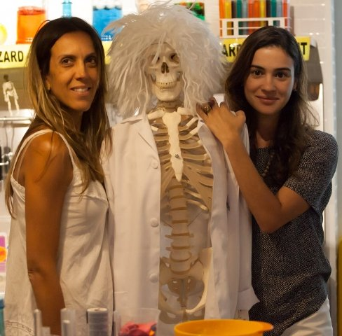 As sócias Roberta Wright e Priscila Tanure Brunet: dia 15 começa a primeira colônia de férias organizada pela dupla