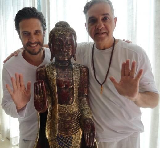 Mahavir Thuri e Paulo Di Stasi: os professores de Ioga são os novos coordenadores do Nirvana, na Gávea