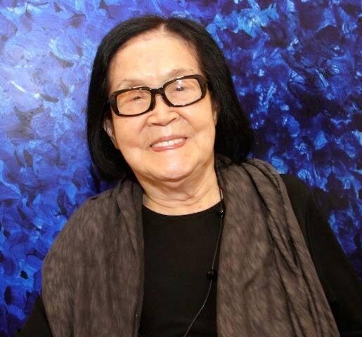 Tomie Ohtake é uma das maiores representantes da arte abstrata no mundo / Foto: reprodução da internet
