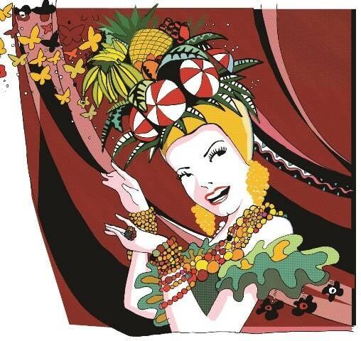 """Uma das ilustrações de Graça Lima para o livro """"Carmen, a Grande Pequena Notável"""" , de Heloísa Seixas e Julia Romeu / Foto: divulgação"""