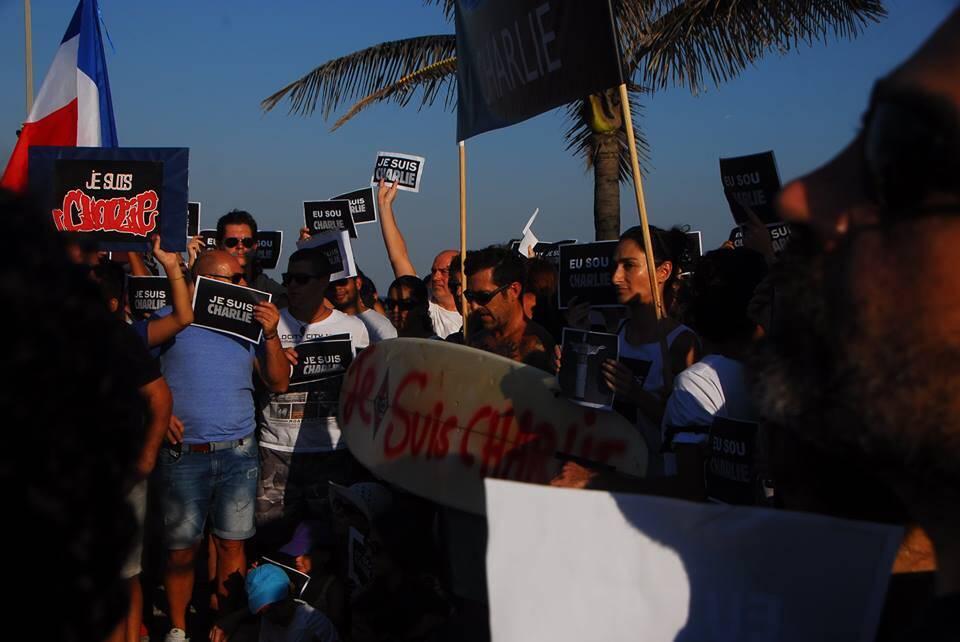 As lideranças cariocas não deram as caras na manifestação no Rio - o que, então, dizer de nós? / Foto: Nicolas Bauer (Facebook)