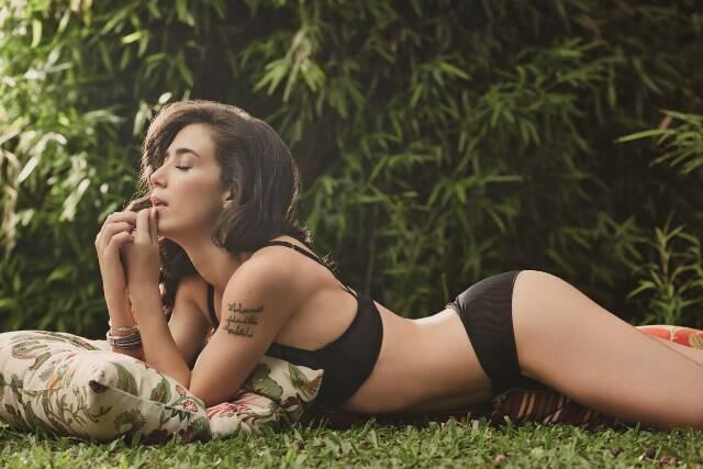 Marjorie Estiano no ensaio sensual para a próxima edição da GQ, de fevereiro / Foto: Yuri Sardenberg