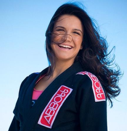 Kyra Gracie: sua busca por uma alimentação saudável motivou a parceria com o chef Zampier / Foto: divulgação