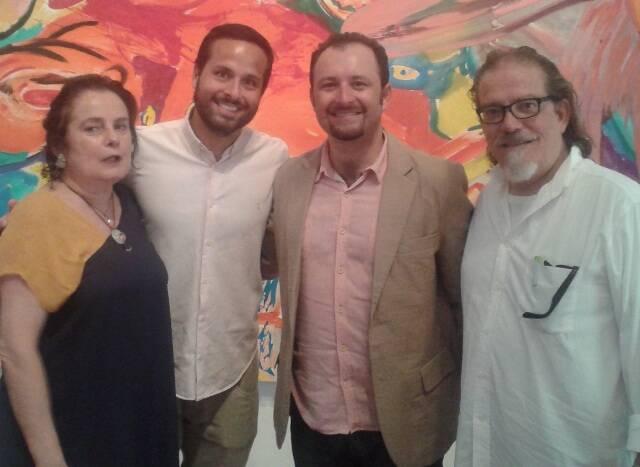 Monica Xexéo,  Marcelo Calero Rio 450 anos,  Robson de Almeida Iphan e Guilherme Vergara MAC Niteroi