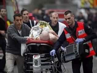 """Paris: o Boulevard Richard Lenoir, onde ocorreu o ataque ao escritório da revista """"Charlie Hebdo"""" / Foto (AP - IG)"""