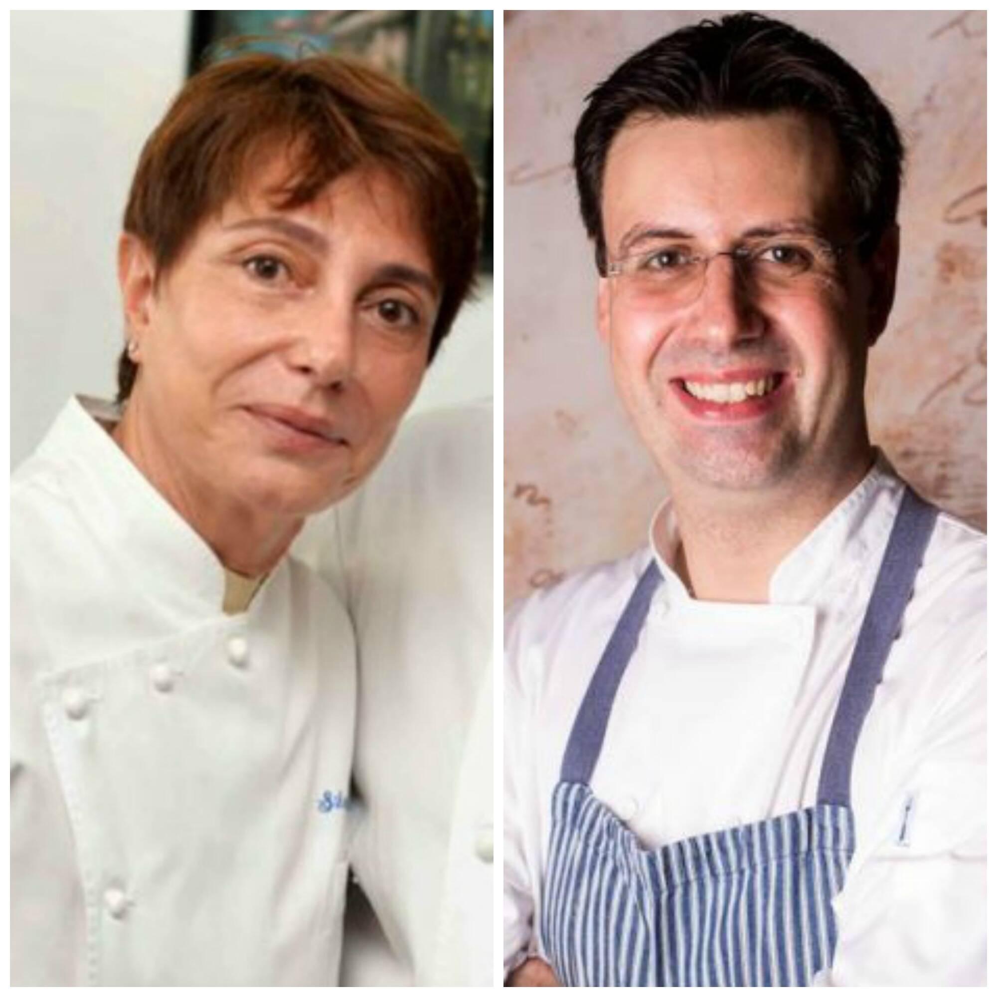 Silvana e Frédéric: cursos premium no Senac vão ganhar a expertise dos dois chefs / Foto: Ari Kaye e divulgação