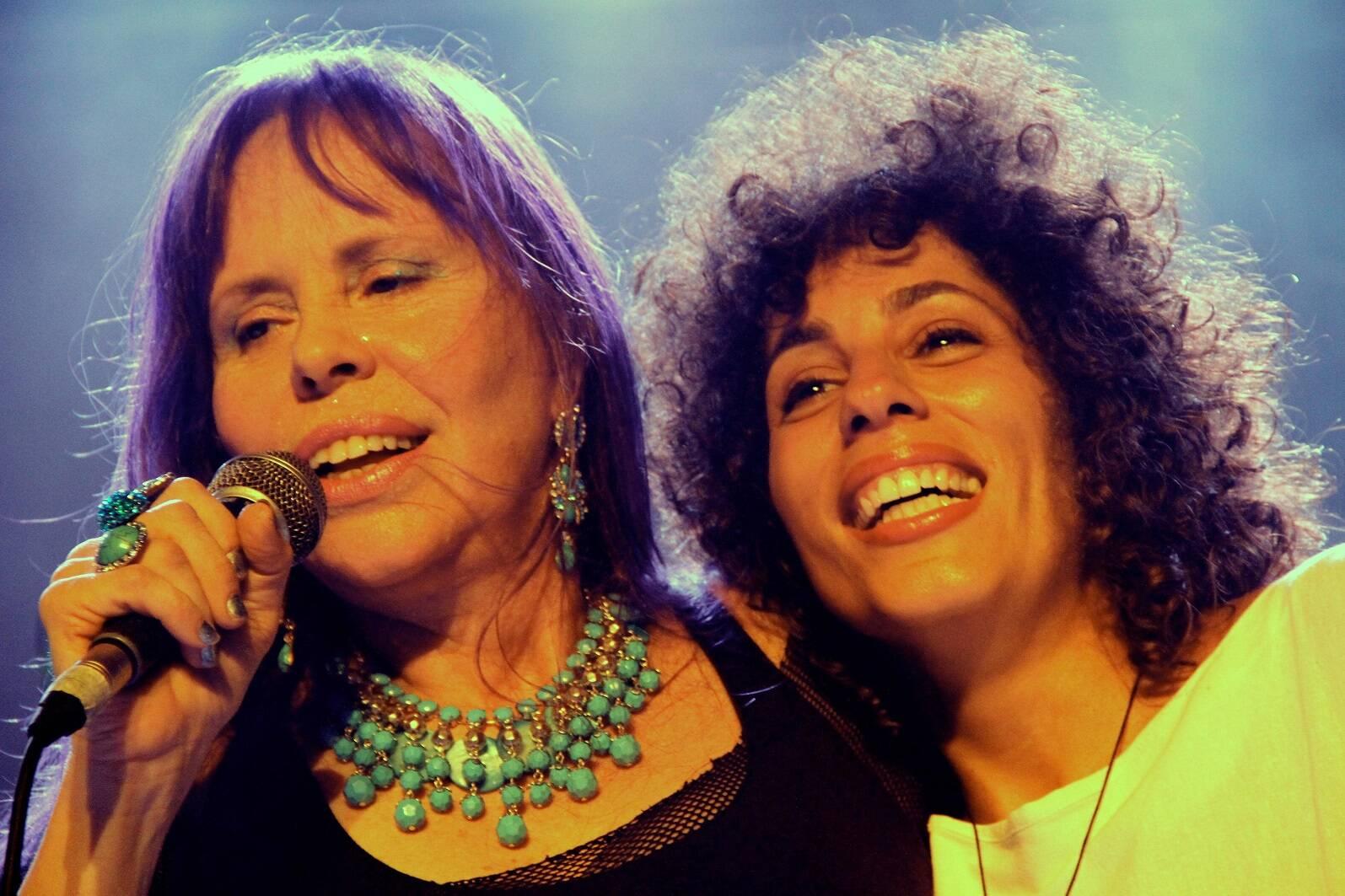 Baby do Brasil e Marcia Castro vão estar juntas, esta quinta-feira, em show no Acqua, em Ipanema / Foto: divulgação