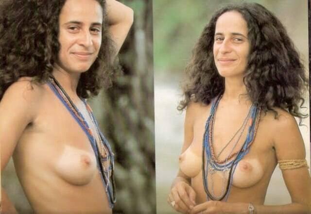 Maria Bethânia: Mario Canivello publicou fotos da cantora com peitos de fora no Instagram - foi censurado / Fotos: reprodução Internet