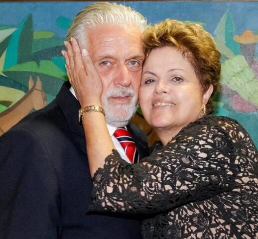 O ministro da Defesa, Jaques Wagner, e a presidente Dilma Roussef: viagem ao Rio cancelada / Foto: Roberto Stuckert Filho/ PR