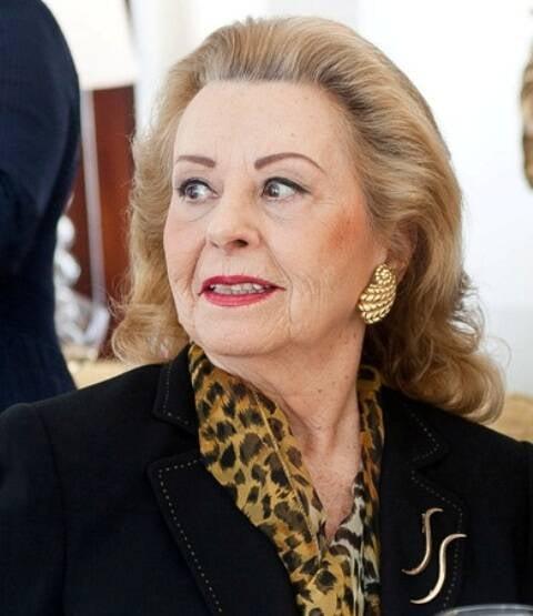 Marlene Paiva, em foto de 2011, em almoço no Copacabana Palace / Foto: Bruno Ryfer