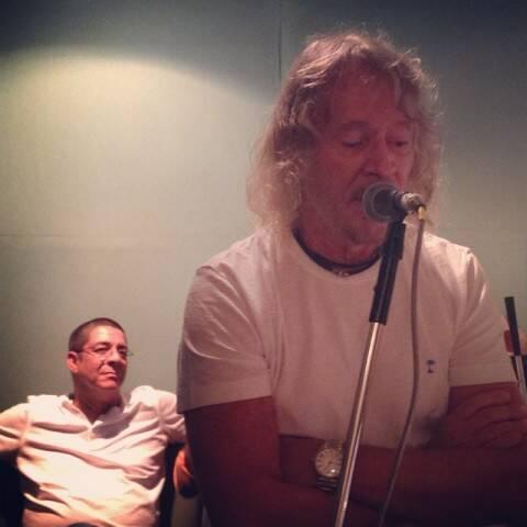 Marcos Valle coloca a voz guia no samba que Zeca vai cantar no próximo CD / Foto: divulgação