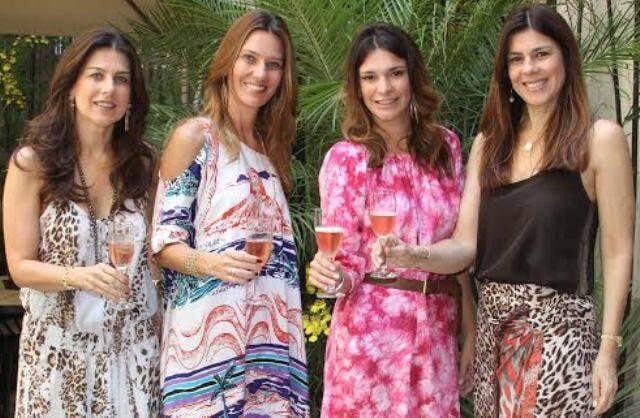 As irmãs Tostes: Tininha, Gilda, Ilka e Andrea, donas da Covering, que está mudando de endereço / Foto: divulgação