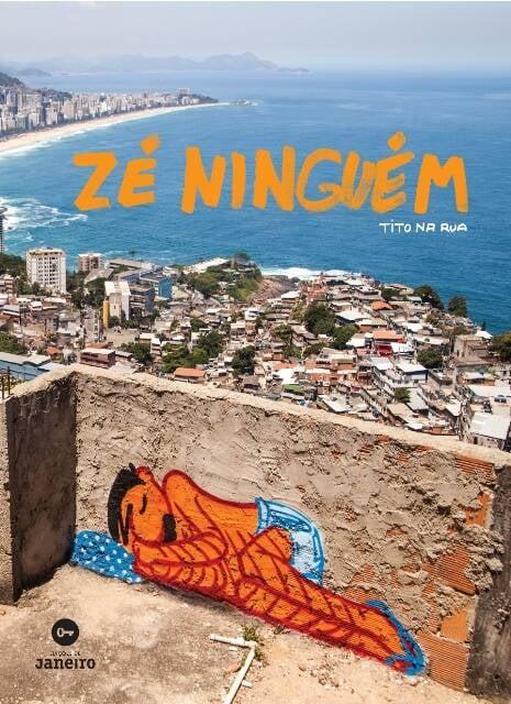 A capa do livro do quadrinista Tito na Rua, sua primeira obra editada no Brasil / Foto: divulgação