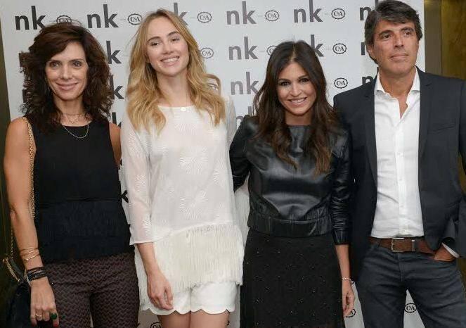 Claudia Albuquerque, Suki Waterhouse, Nathalie Klein e Paulo Correa em evento na NK / Foto: divulgação