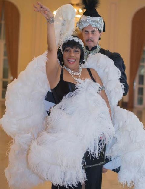 Eliana Pittman e Zeka Marquez comandam o Baile de carnaval do Copacabana Palace, em clima dos anos 20 / Foto: Daniel Marques
