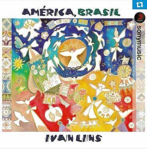 A capa do CD de Ivan Lins: aquarela é da autoria da pintora Sonia Madruga/ Foto: divulgação