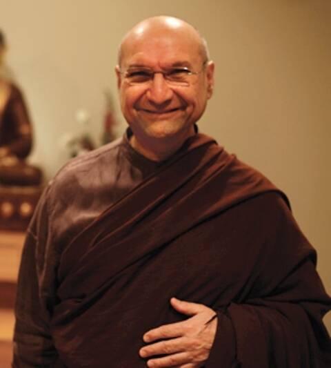 O monge Segyu Rinpoche dá retiro de três dias numa casa no Alto da Boa Vista/ Foto: divulgação