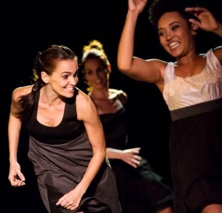 Bailarinas no espetáculo Jogo de Damas, um dos eventos divulgados no portal de Bern/ Foto: Renato Mangolin