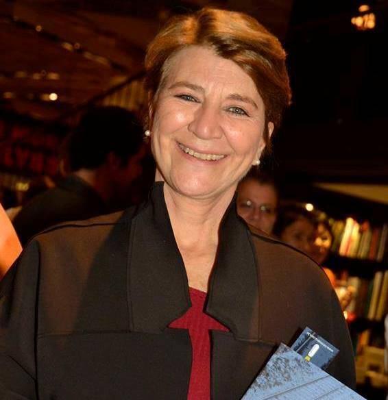 Beatriz Thielmann: a jornalista da TV Globo, morreu no Hospital Sírio Libanês, em São Paulo neste domingo (29/03) / Foto: reprodução da página de Edney Silvestre