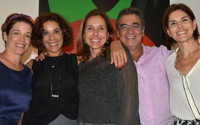 Com Zaíde De Mello Franco Faoro, Angela Vieira, Cristine Queiroz, Miguel Paiva e Helena Fernandes.