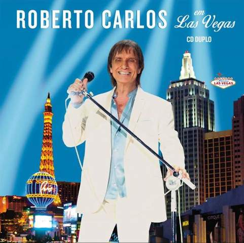 Capa do CD de Roberto Carlos gravado em Las Vegas, em pré-venda no iTunes/ Foto: divulgação