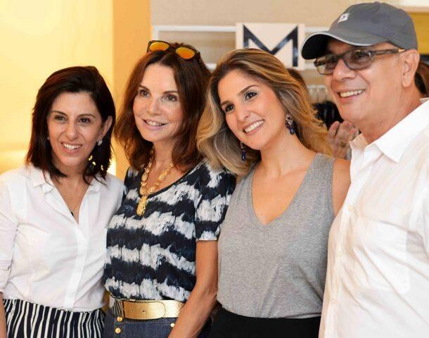 Marcia Assis Patricia Mayer Georgia Assis e Caco Borges