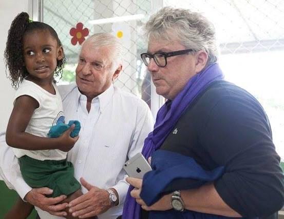 Olavo Monteiro de Carvalho: o empresário assinou parceria com a fundação alemã Peter Maffay / Foto: reprodução