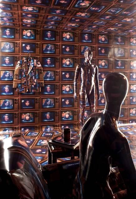 Uma sala inteira do MIS de São Paulo foi ocupada para a exposição do artista americano Robert Heinecken/ Foto: divulgação