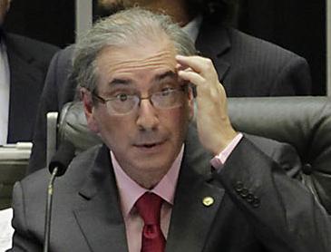 Eduardo Cunha: presidente da Câmara já tem duas cabeças na bandeja / Foto: IG