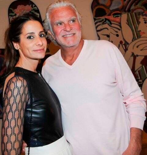 Paula Raia com o marido, Fernando Altério: o casal dá festa na próxima sexta-feira (27/03) / Foto: Lu Prezia