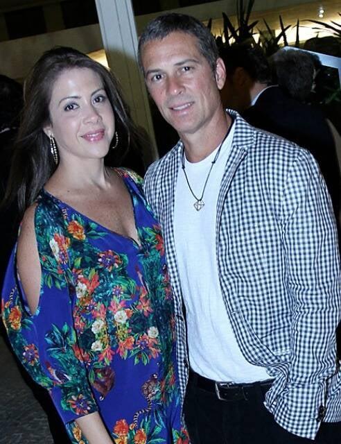 Luciana Rique e Gustavo Moreno: separados depois de alguns anos juntos e de uma linda filha / Foto: Lu Lacerda