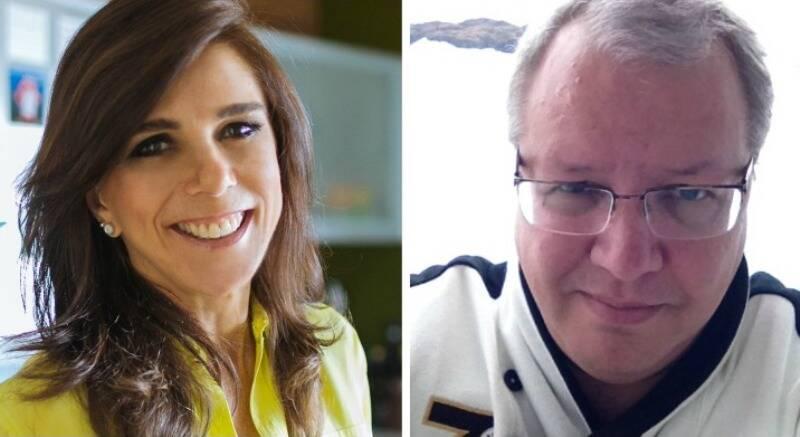Bia Rique e Ricardo Krause: A nutrição e a psiquiatria podem ser aliados / Fotos: divulgação