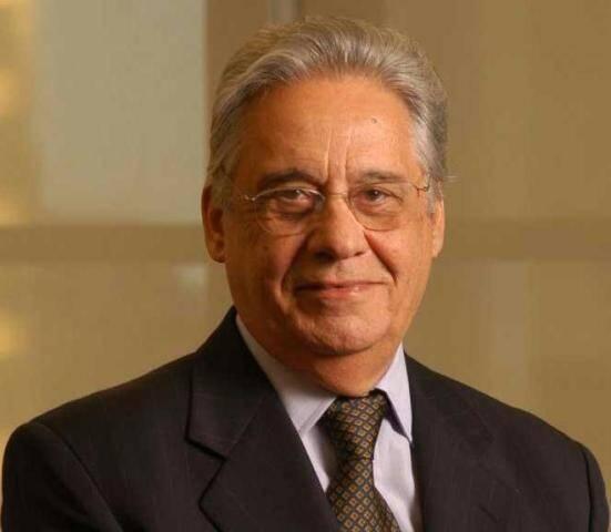 O ex-presidente Fernando Henrique Cardoso é a personalidade do ano escolhida pelo lado brasileiro/ Foto: reprodução da internet