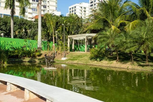 A Praça Nossa Senhora da Paz: lugar escolhido para as comemorações do aniversário de Ipanema/ Foto: divulgação