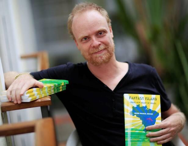 """Henrik Jönsson revela que """"se sentiu pisando na lua"""" ao conhecer Brasília, em 2002/ Foto: divulgação"""