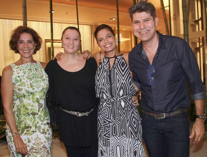 IMG_1371-Angela Vieira, Vera Donato,  Emanuelle Araújo e Cacau Hygino
