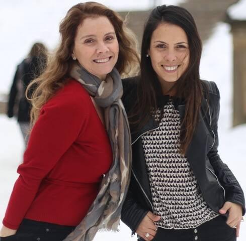 As amigas e sócias Cecília e Cristine: dicas de uma Nova York conhecida por poucos brasileiros/ Foto: divulgação