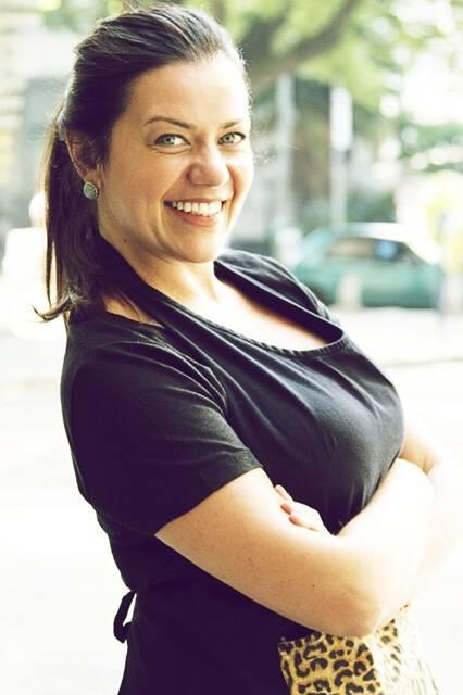 Janaina Rueda, a divertida chef do bar Dona Onça, vai cozinhar pela primeira vez no Rio/ Foto: divulgação