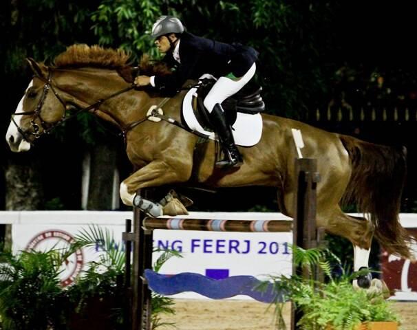 O cavaleiro Marcelo Ciavaglia, atual campeão do ranking estadual da FEERJ/ Foto: Bia Cunha