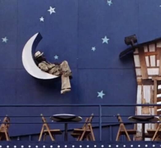 A escultura de Pixinguinha na fachada do bar Vou Vivendo, que não existe mais em São Paulo/ Foto: reprodução da internet