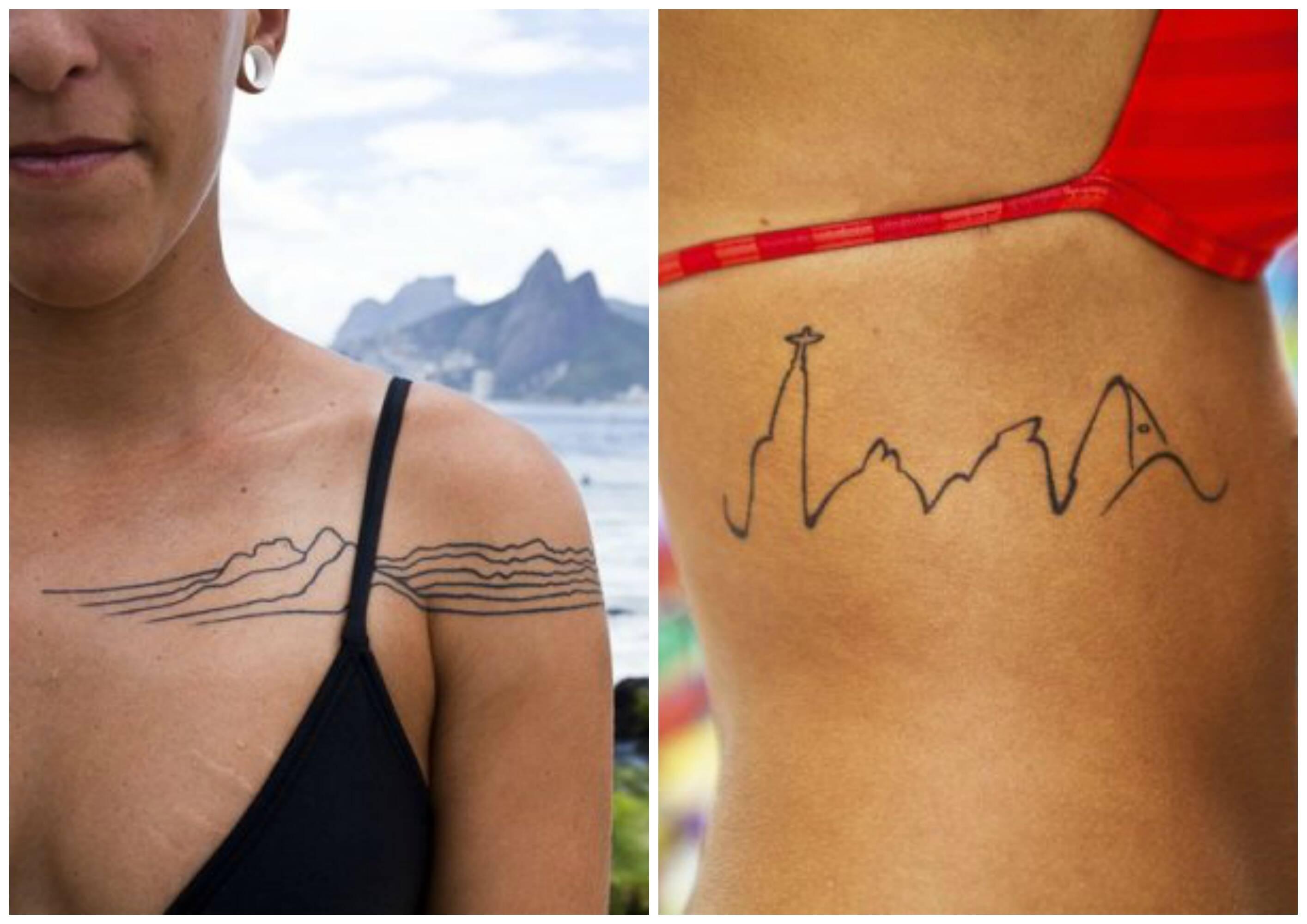 """Na festa """"Rio porque tô no Rio"""" vão estar expostas imagens da fotógrafa Júlia Assis feitas em homenagem à cidade, como as duas acima/ Fotos: divulgação"""