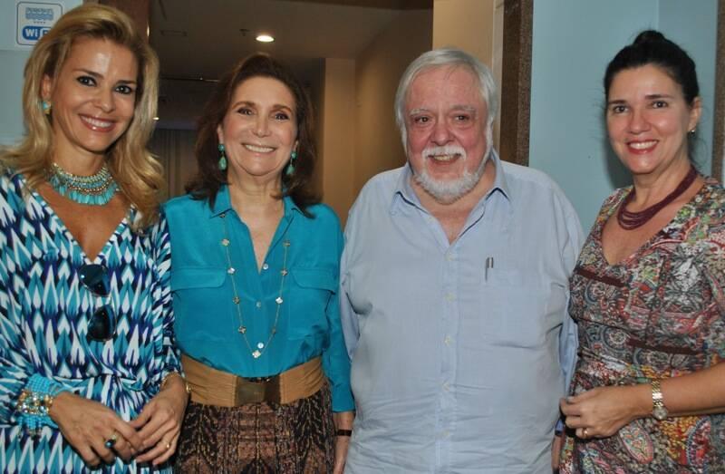 Manoela Ferrari, Ruth Niskier, Lula Vieira e Joana Teixeira / Foto: Armando Araujo